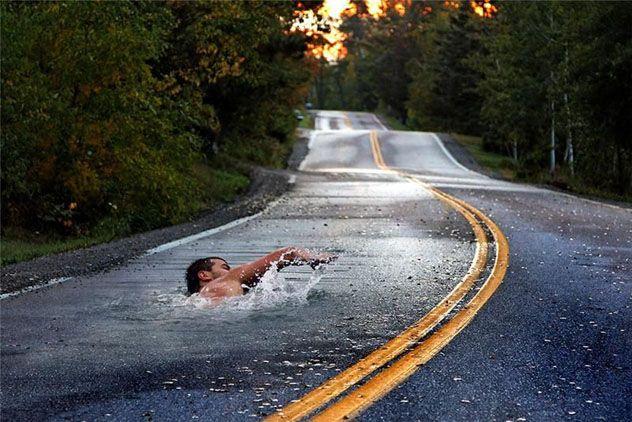 DIGITAL ART! Water-commute